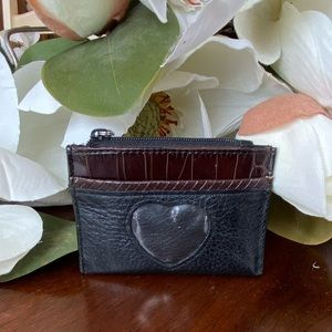 Brighton Leather coin purse/business card holder